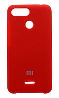 Чехол Silicone Cover Xiaomi Redmi Note 5A Prime (Red) , фото 1