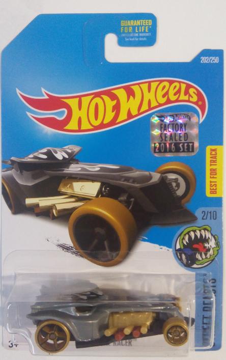 Машинка Hot Wheels 2016 Ratical Racel