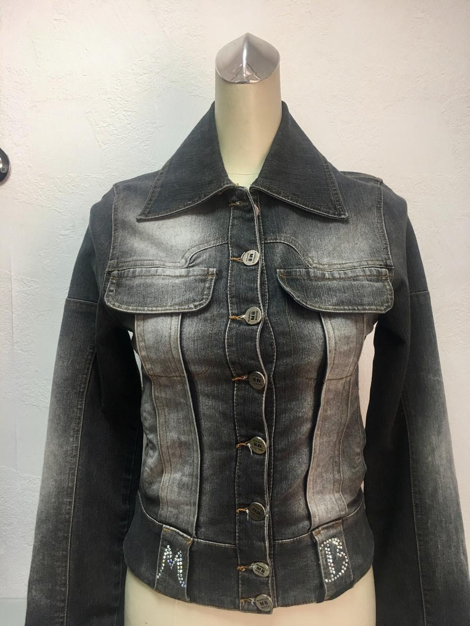 Куртка женская джинсовая Mariella Burani утеплённая