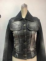 Куртка женская джинсовая Mariella Burani утеплённая, фото 1