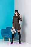Женское стильное замшевое платье (5 цветов), фото 4
