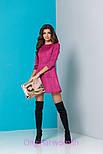 Женское стильное замшевое платье (5 цветов), фото 6
