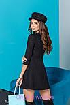 Женское стильное замшевое платье (5 цветов), фото 9