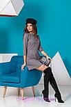 Женское стильное замшевое платье (5 цветов), фото 7