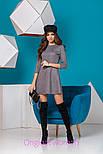 Женское стильное замшевое платье (5 цветов), фото 10