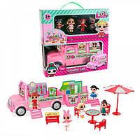Игровой набор кукол LOL ЛОЛ Дом-автобус,пикник лол, фото 1