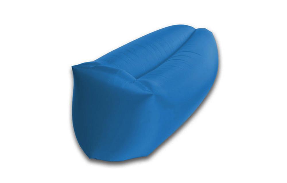 Шезлонг надувной ламзак Lamzac мешок 240*70см R16332 Blue D