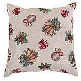 Скатертина новорічна гобеленова, 157х240 см, Ексклюзивні подарунки, Новорічний текстиль, фото 3