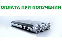 Внешний аккумулятор портативная зарядка Повер Банк УМБ Солнечное зарядное устройство Power Bank UKC 35000 mAh, фото 1