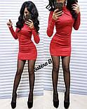 Женское замшевое платье (4 цвета), фото 3