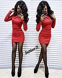 Женское замшевое платье (4 цвета), фото 6
