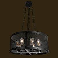 Люстра Loft [ AMERICAN CELL ] на 8 ламп Эдисона, фото 1