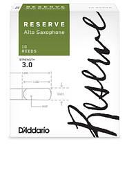 D`ADDARIO Reserve - Alto Sax #2.5 - 10 Box Трости 10шт для альт саксофона серия Reserve