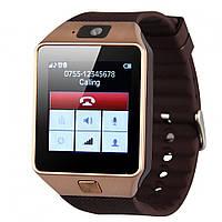 Умные часы Smart Watch GSM Camera DZ09 Gold, фото 1