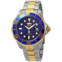 Мужские часы Invicta Grand Diver 3049 Инвикта водонепроницаемые часы с  автозаводом 71e709d05d6