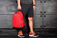 Красный спортивный рюкзак Nike