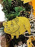 Новогодняя игрушка Свинка - Символ 2019 года, фото 2