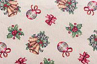 Салфетка  новогодняя гобеленовая,  34х44 см, Эксклюзивные подарки, Новогодний текстиль