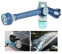 Багатофункціональний розпилювач води, водомет, насадка на шланг, пістолет для поливу ez jet water cannon