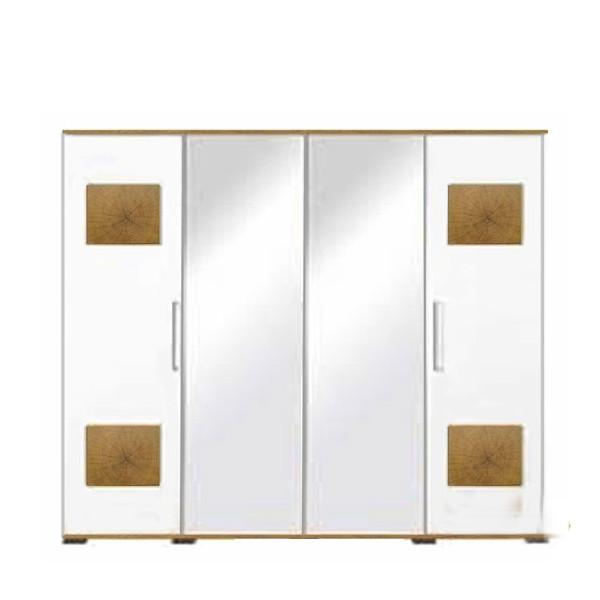 Шафа (шкаф) з ДСП в спальню вітальню дитячу 4Д Вудс Gerbor