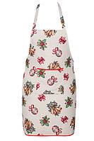 Фартук новогодний гобеленовый,  60х75 см, Эксклюзивные подарки, Новогодний текстиль, фото 1
