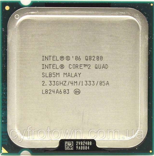 Процесор Intel Core 2 Quad Q8200 2x2.33 GHz S775