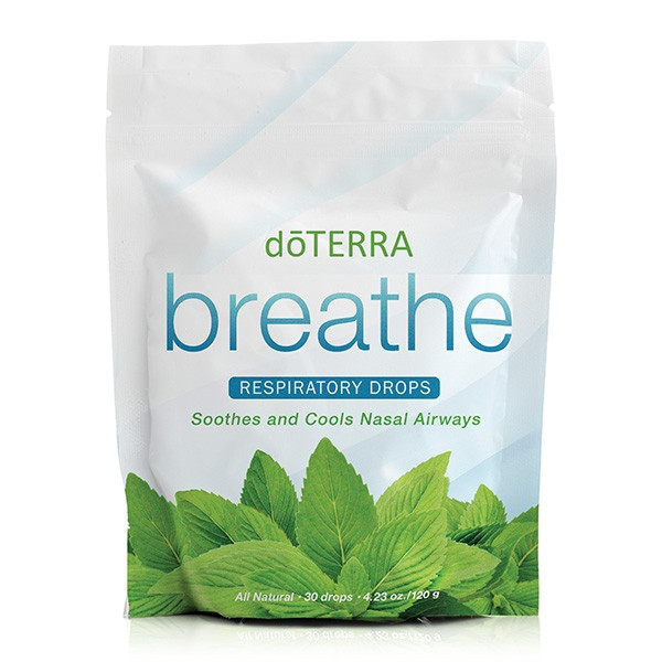Леденцы «Дыхание» / dōTERRA Breathe® Respiratory Drops, 30 шт.
