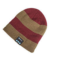 Шапка с bluetooth наушниками SPS Hat BT Red Brown, фото 1