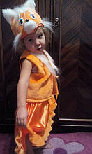 Дитячий карнавальний костюм Лисички