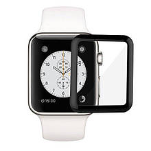 5D Full Glue Стекло Apple Watch 42mm Black
