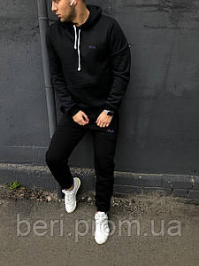Зимний спортивный костюм Fila (Черный)