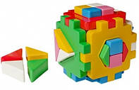 Логический куб сортер, Умный Малыш ЛОГИКА 2 ТЕХНОК 2469 000776, фото 1