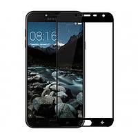 Защитное стекло 5D для Samsung Galaxy J4 (2018) J400 Black