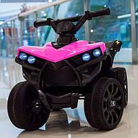Детский электромобиль Квадроцикл Кожаное сиденье, колёса EVA резина, дитячий електромобіль