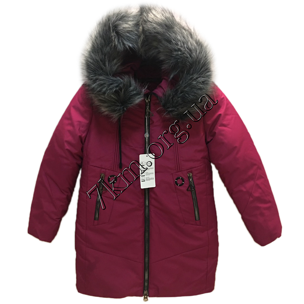 Куртка подростковая для девочек 134-158 см. Украина Оптом 1837-3