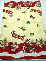 Новогодние кухонные вафельные полотенечки 40*70, фото 1