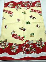Новогодние кухонные вафельные полотенечки 40*70