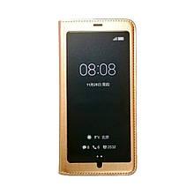 Чехол-книга Original Window Huawei Y7 Prime (2018) / Honor 7c Pro (золотой)