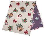 Сапожок новогодний для подарков,  25х37 см, Эксклюзивные подарки, Новогодний текстиль, фото 3
