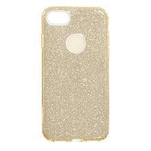 Силикон Candy Apple iPhone 7 (золотой)