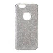 Силикон Candy Apple iPhone 6 (серебрянный)