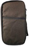 Функциональный органайзер для Документов Passport Bag Brown, фото 1