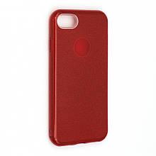 Силикон Candy Apple iPhone 7 (красный)