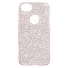 Силикон Candy Apple iPhone 7 (розовый)