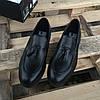 Турецкие мужские кожаные туфли лоферы Luciano Bellini, фото 3