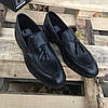 Турецкие мужские кожаные туфли лоферы Luciano Bellini, фото 5