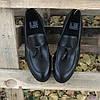 Турецкие мужские кожаные туфли лоферы Luciano Bellini, фото 6
