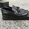 Турецкие мужские кожаные туфли лоферы Luciano Bellini, фото 9