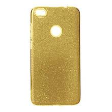 Силикон Candy Huawei P8 Lite 2017 (золотой)