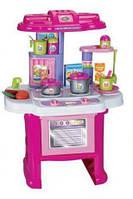 Детская игровая кухня Limo Toy 16641G плита посуда продукты звук свет, фото 1